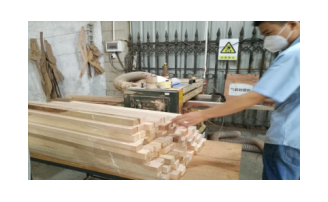 实木家具工艺流程 备料