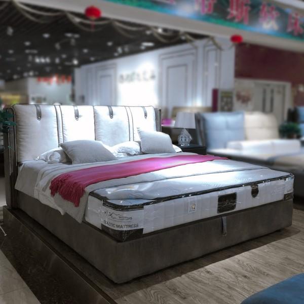 简约时尚双人软床采购价格19-33