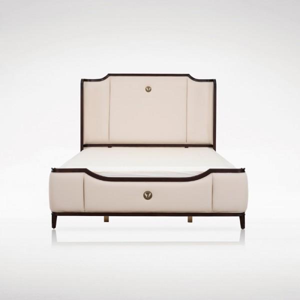 现代新中式双人床卧室