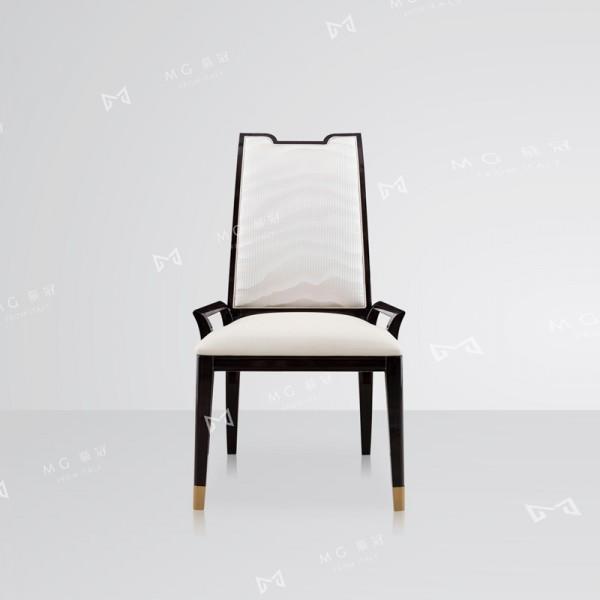 高档轻奢餐椅时尚软包