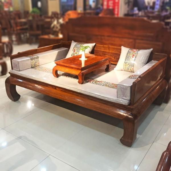 實木沙發床中式羅漢床