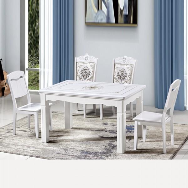 工廠直銷亮點貼花餐桌餐椅613#