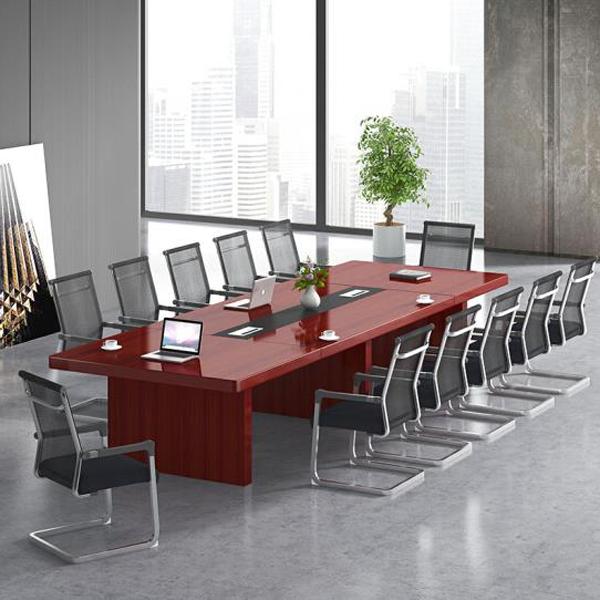 实木油漆会议桌价格HYZ-04