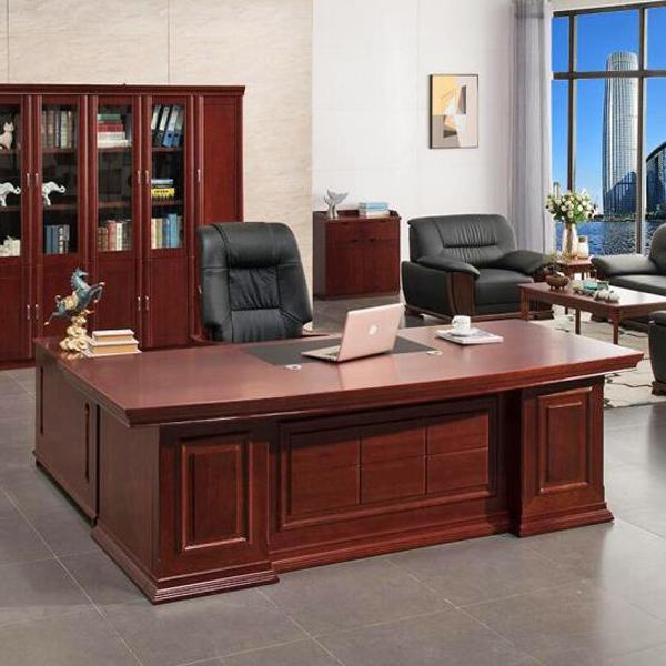 工厂直销实木油漆老板办公桌BT-05