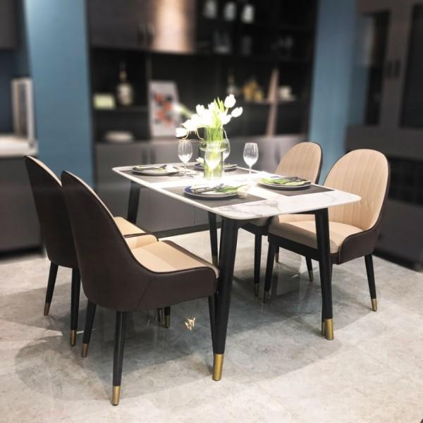 全屋定制现代轻奢餐桌椅 CZ-05