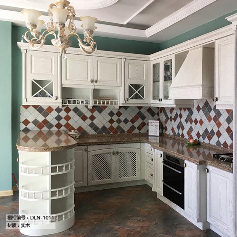 小户型厨房家具全屋定制整体橱柜 26#
