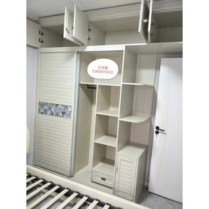 全铝家具 小卧室全铝衣柜定制