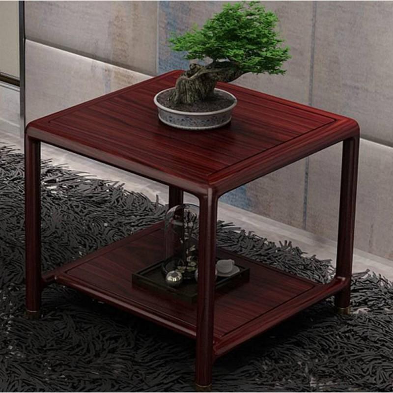 喜之林东阅新中式实木家具客厅角几