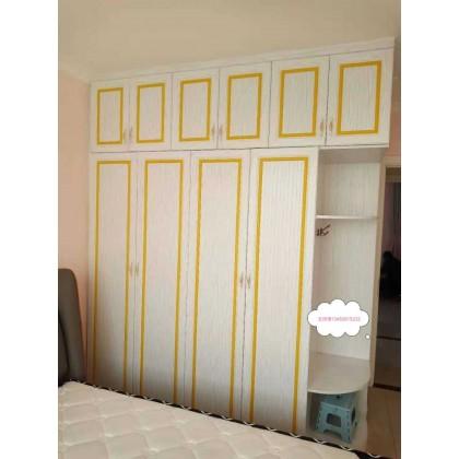 全铝家具 全铝卧室家具衣柜 床厂家定制销售