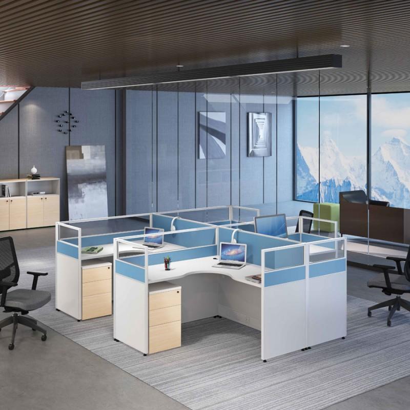工厂直销办公家具屏风组合工作位1.7.1#