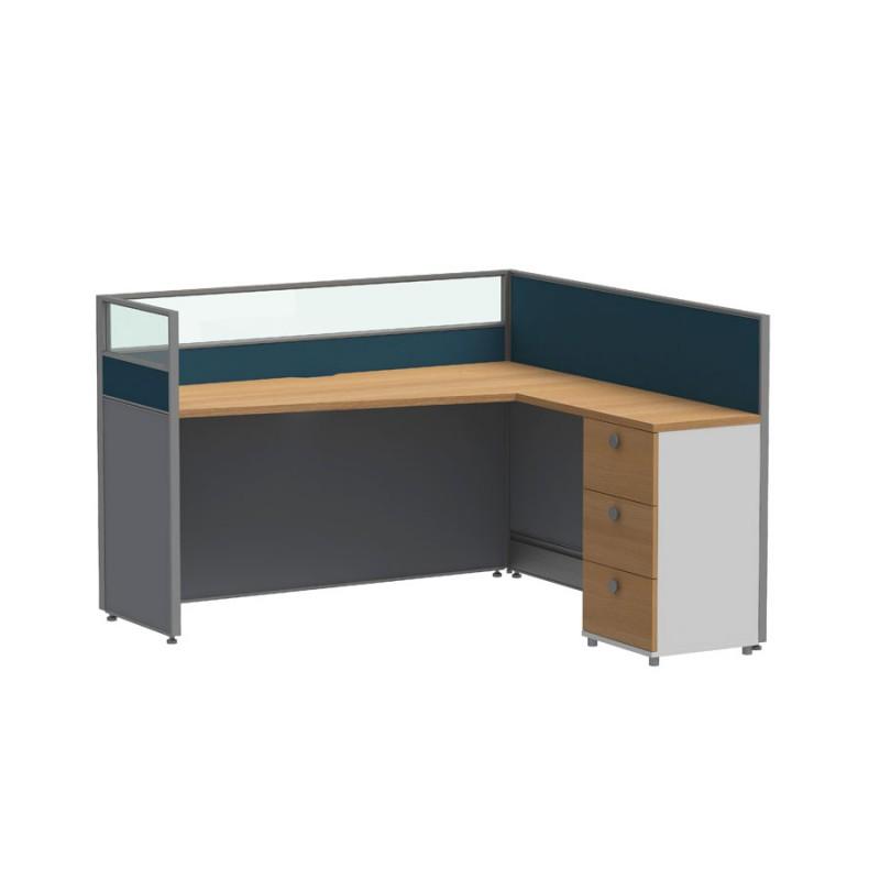 电脑桌卡座办公组合家具采购P30-B1515#