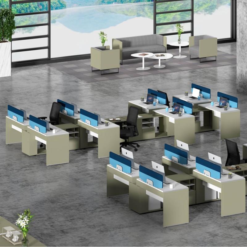 办公家具厂家高卓印象员工桌定制WTG8#