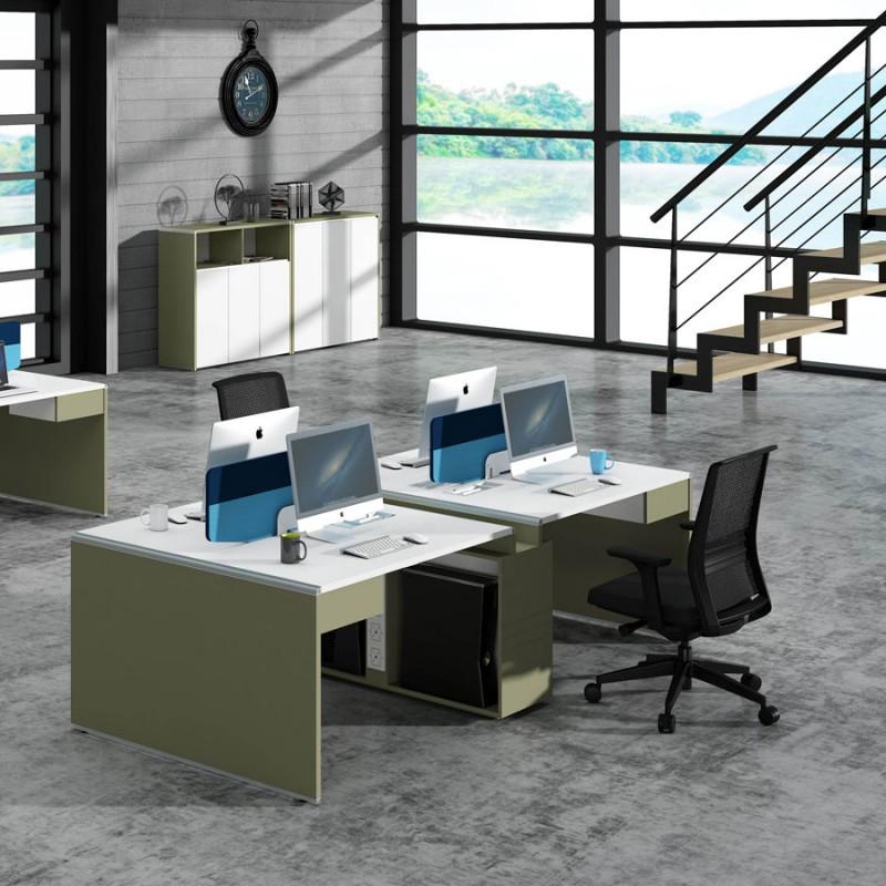 时尚屏风办公桌高卓印象工位采购WTM4#