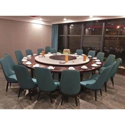 高檔噴泉宴會桌椅