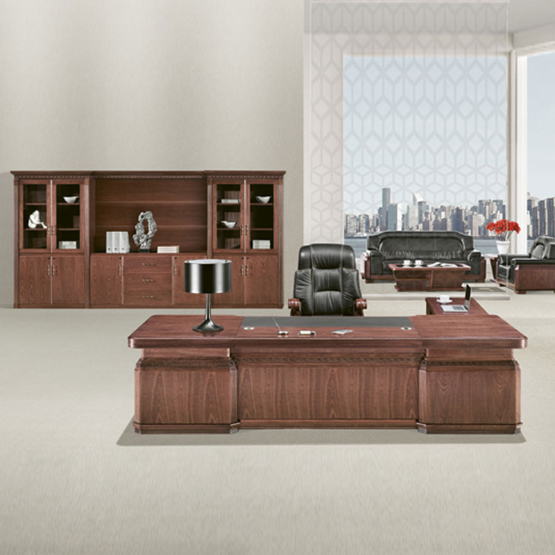 厂家直销实木油漆老板办公桌BT-13#