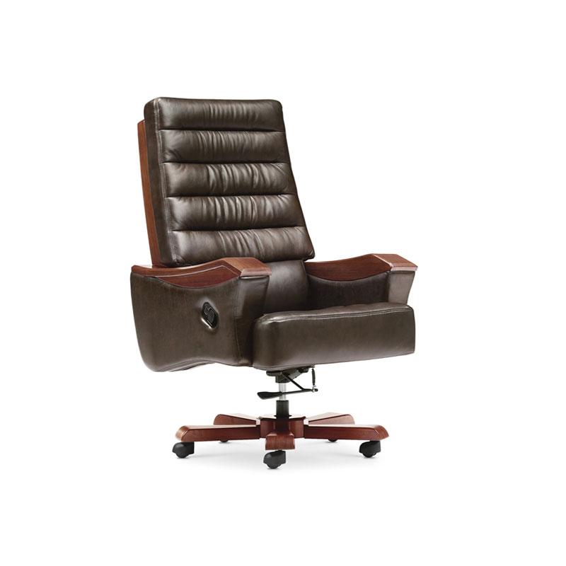 商务可躺实木办公椅升降椅定制BY-09#