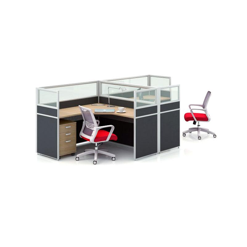 现代屏风电脑工位桌品牌供应商PF-11#