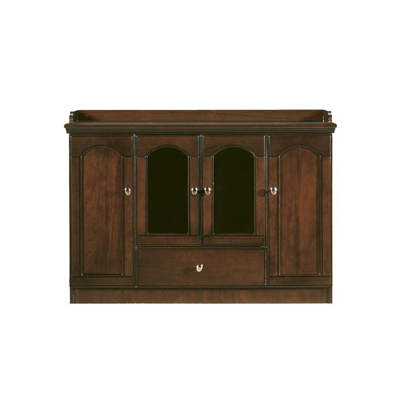 油漆实木贴皮茶水柜矮柜定制 CSG-05#