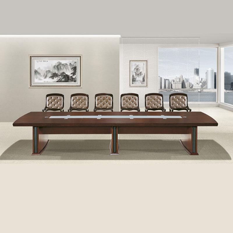 大型会议桌实木油漆会议桌价格 HYZ-01#