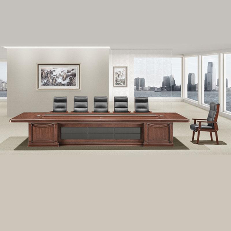 简约大型实木会议桌批发价格 HYZ-06#
