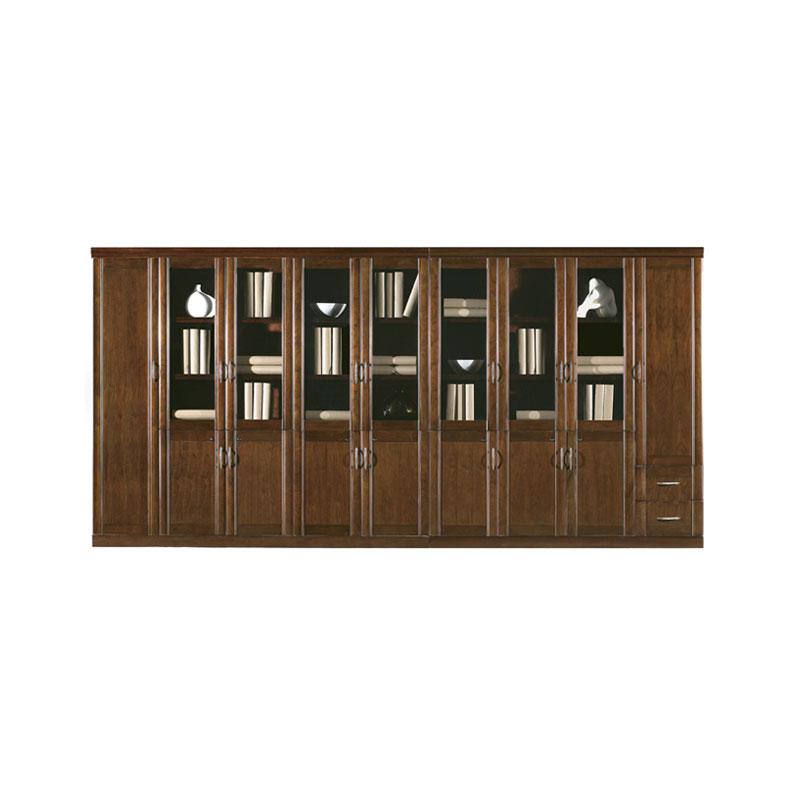 油漆实木贴皮资料柜储物柜价格 SG-04#