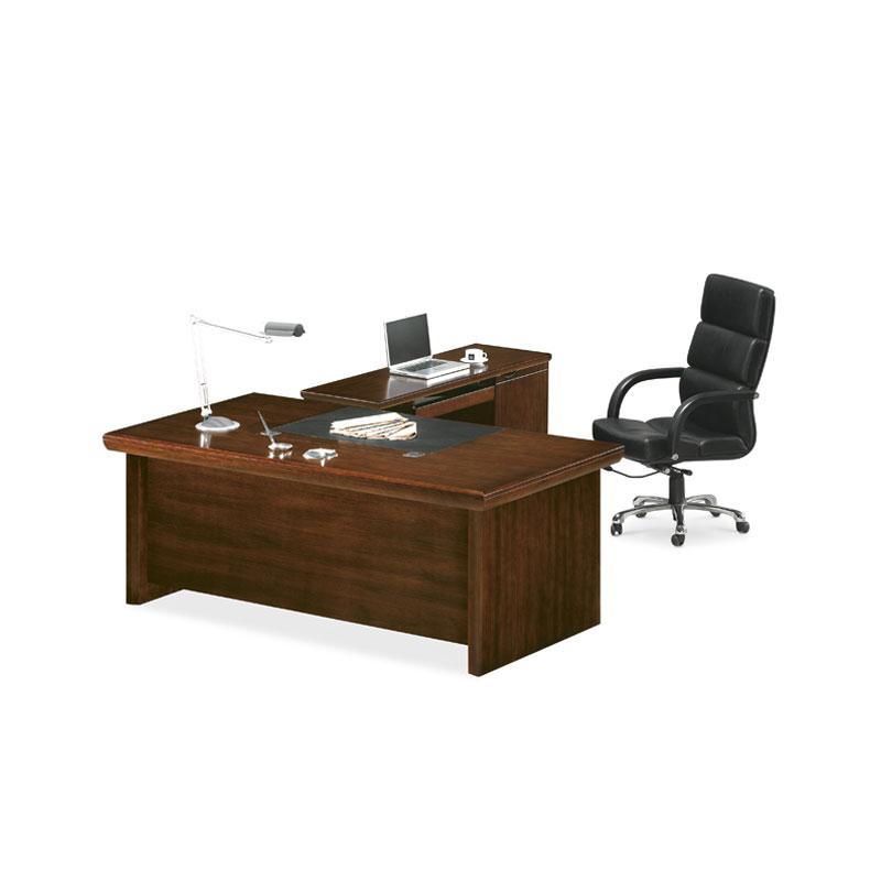 办公实木班台电脑桌厂