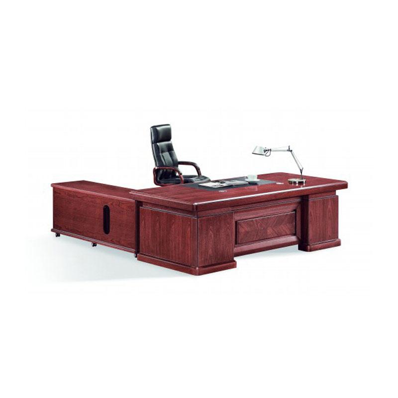 油漆贴实木皮中式老板桌采购 BT-03#