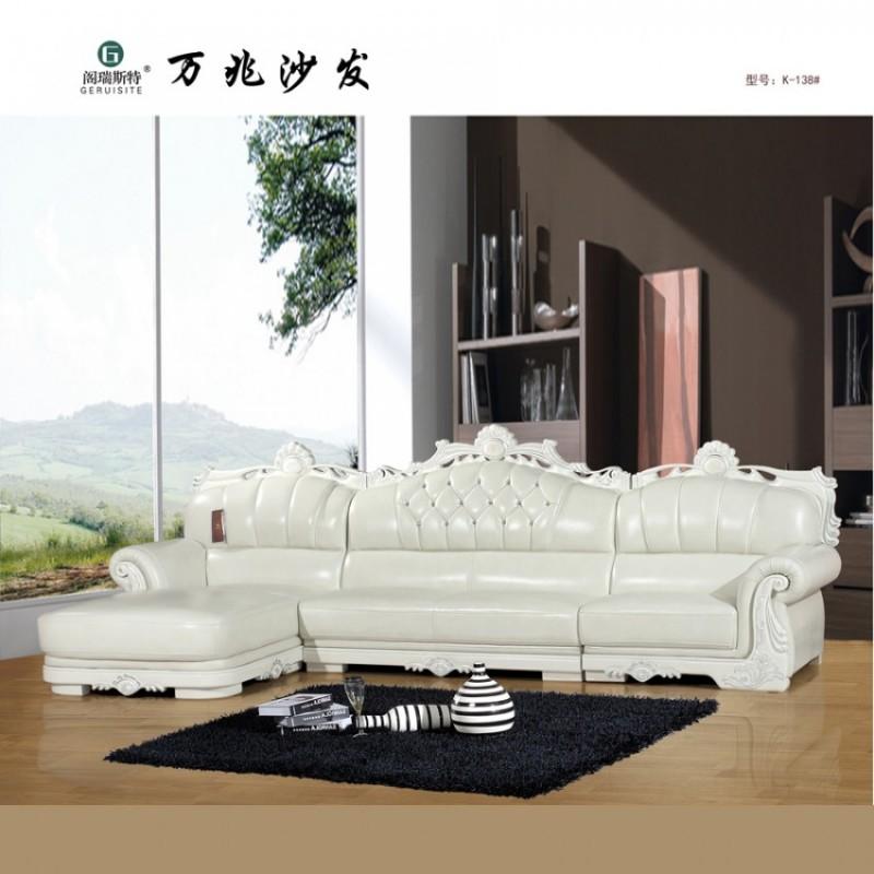 别墅客厅欧式休闲沙发
