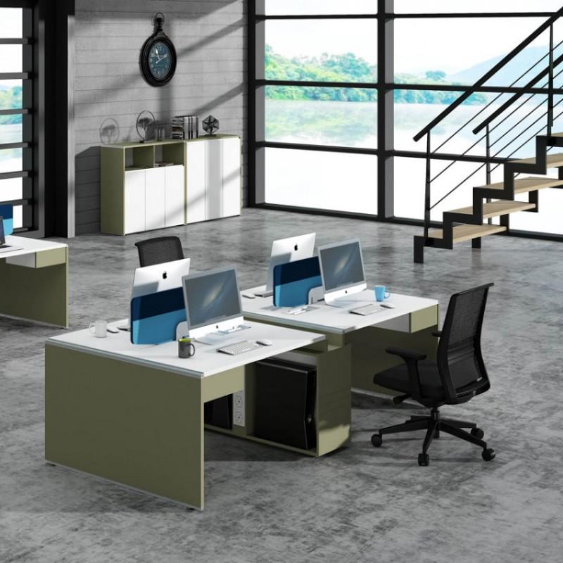 时尚屏风办公桌高卓印