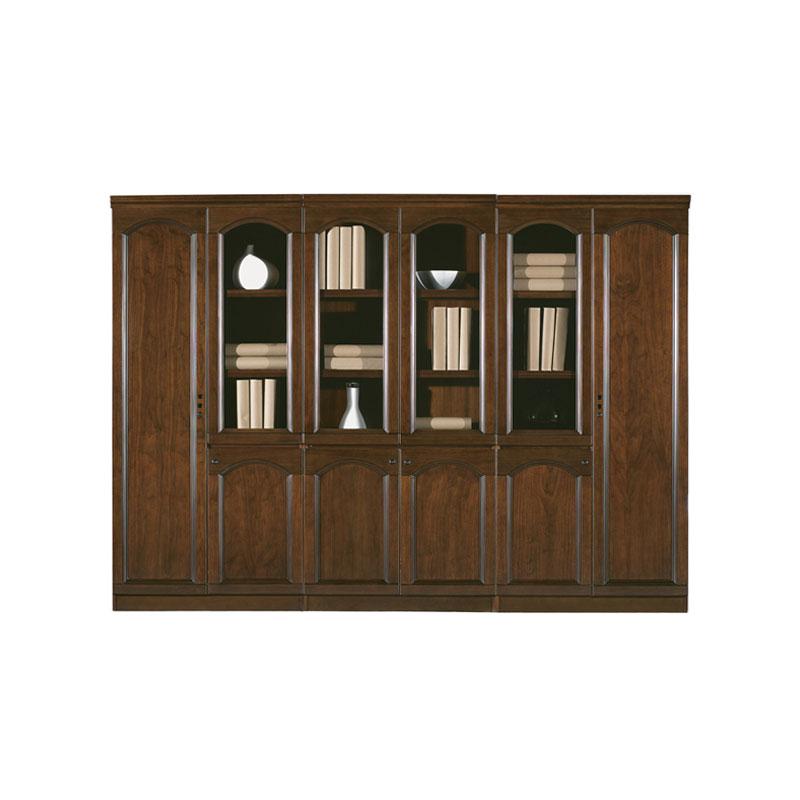 工厂直销中式实木书柜