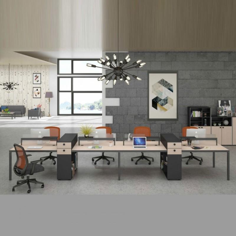 简约时尚办公家具斯莫尔职员办公桌WTB8#