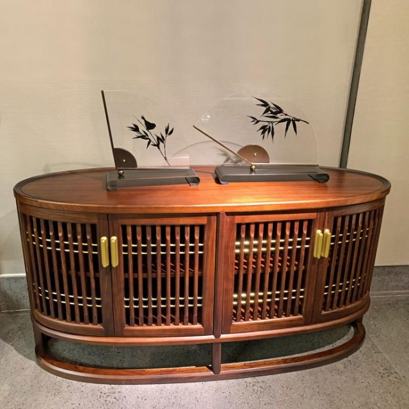 简约中式实木茶水柜采购 CSG-01#