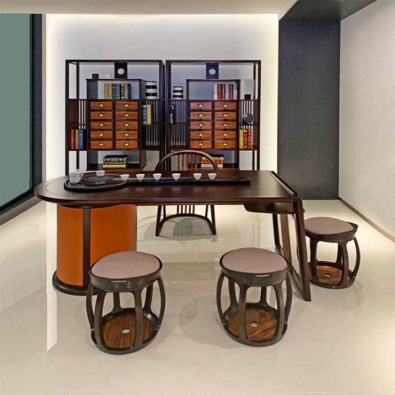 简约实木新中式茶室桌椅采购 CSJJ-01#