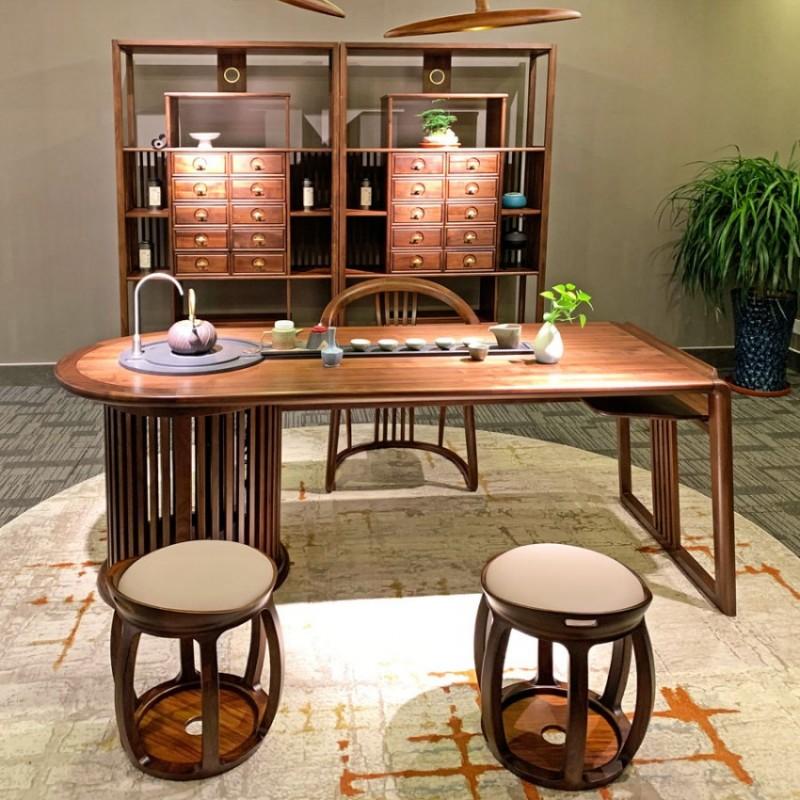 新中式实木会客茶桌椅专卖店 CSJJ-04#