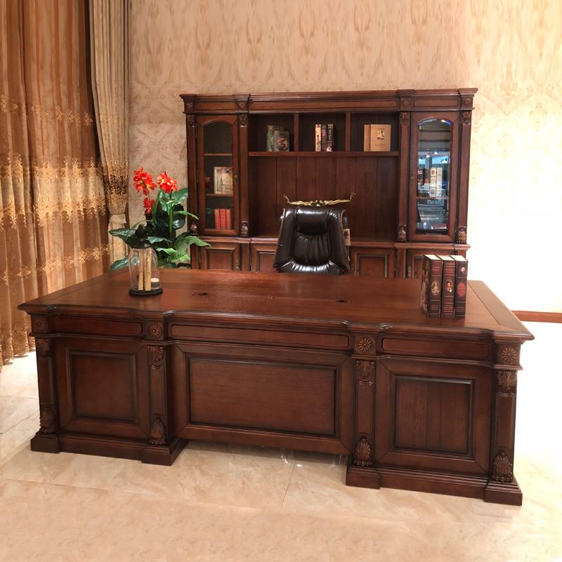 高档中式办公室班台老板桌价格 BT-14#