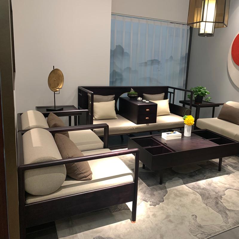 新中式办公沙发品牌供应商SF-04#