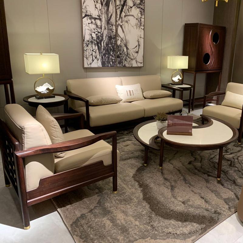 办公接待会客新中式沙发价格SF-05#
