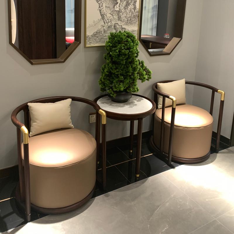 新中式洽谈桌椅品牌供应商QTZY-03#