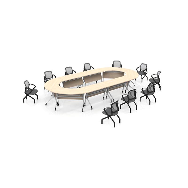 多功能移动带轮培训桌椅定制PXZ-02#