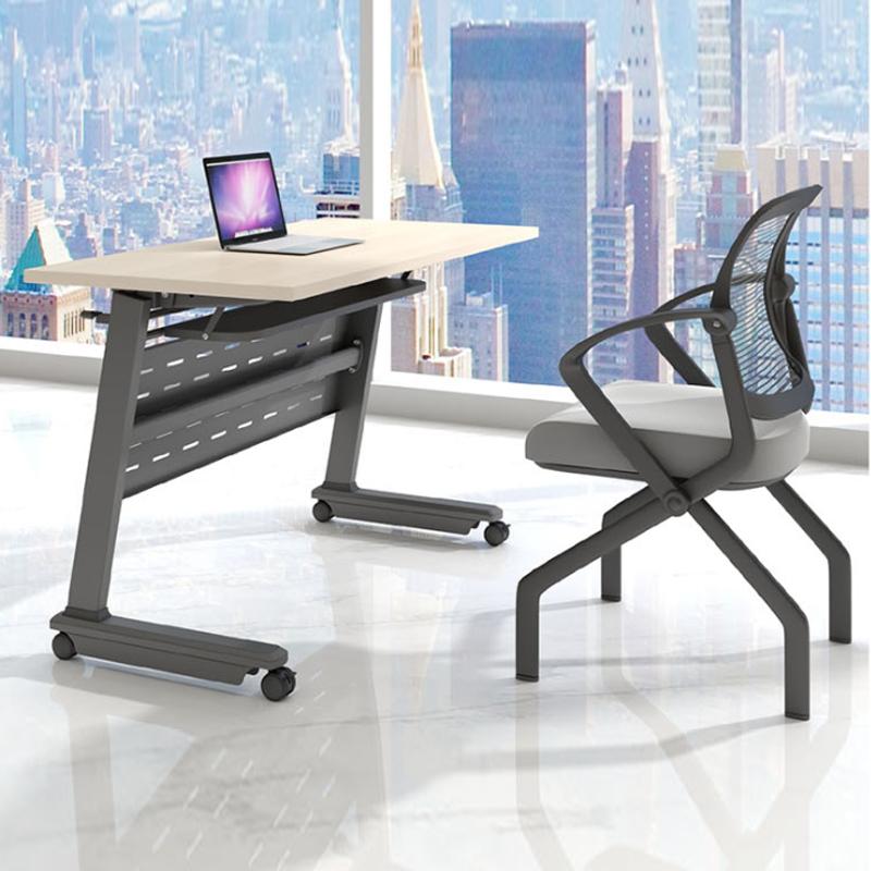 能移动带轮培训桌椅定制PXZ-19#