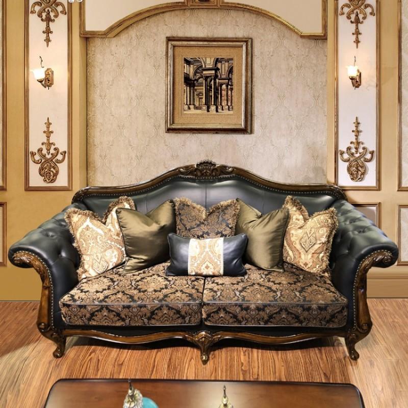别墅高端客厅美式沙发茶几采购SF-08#