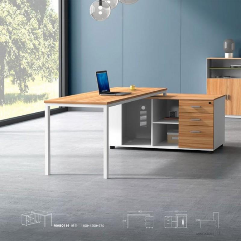 现代经理桌椅组合班台