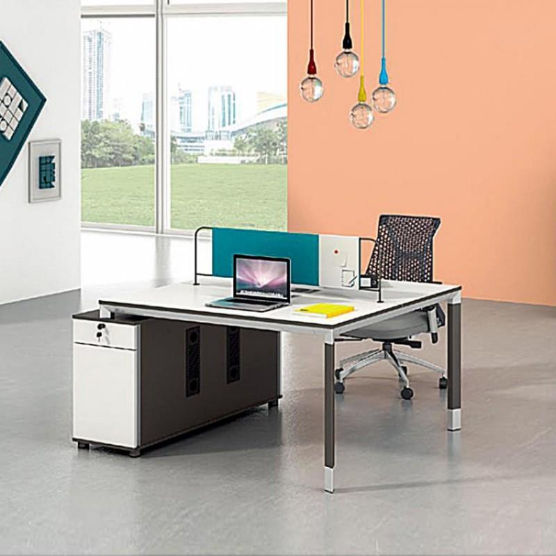 职员办公桌椅2人办公