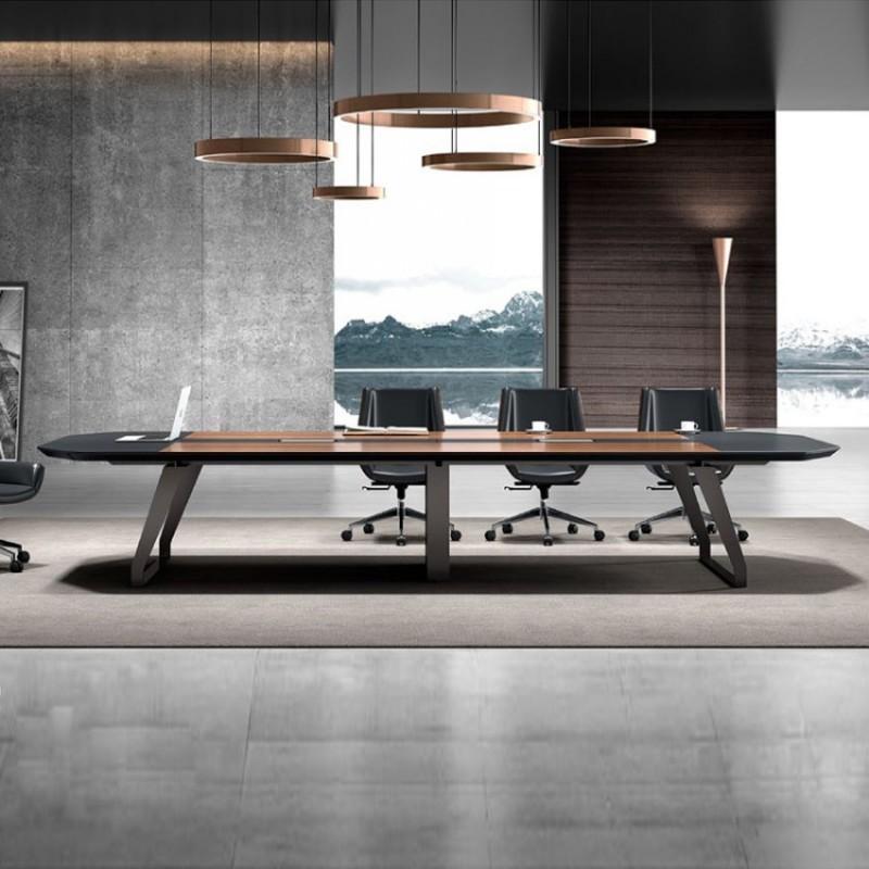 会议桌长桌现代简约培