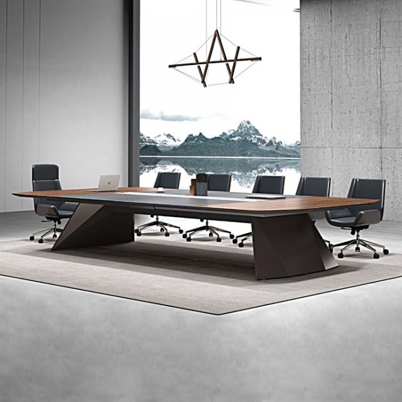 现代会议桌长桌洽谈桌