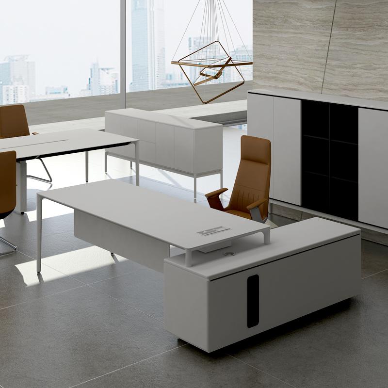 兆生简奥现代时尚老板办公桌002#