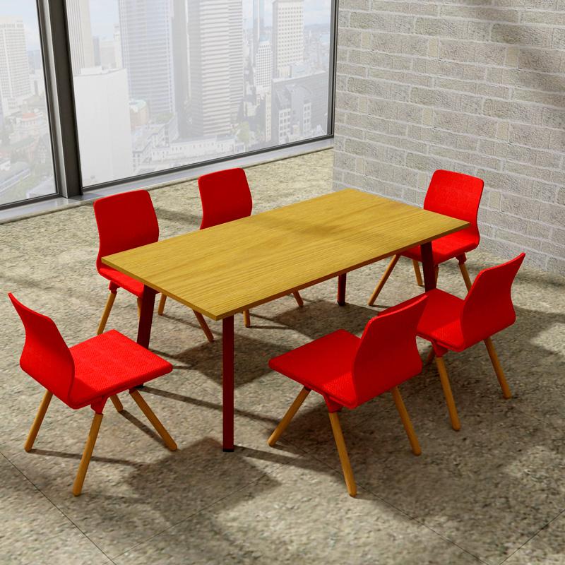 兆生苏芬-会议桌洽谈桌组合 X3AA#