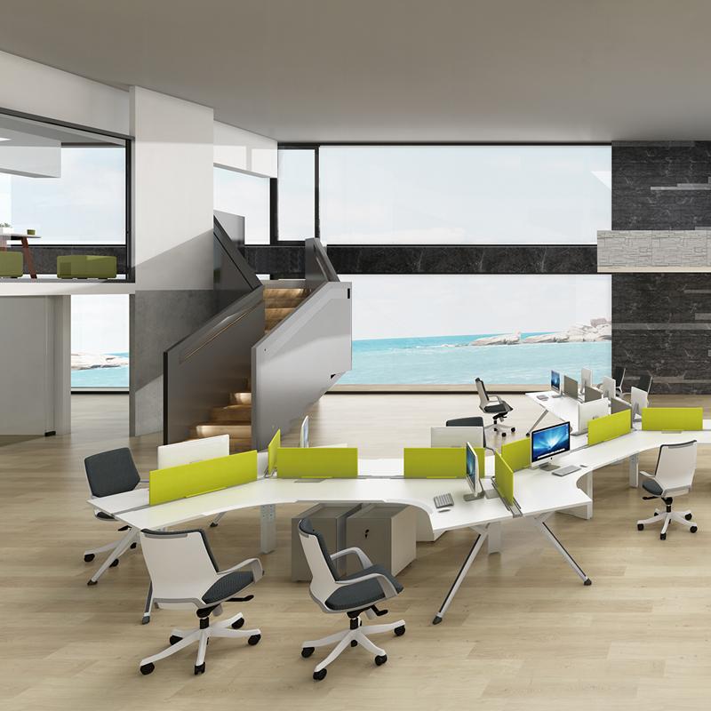 兆生LX-EXE职员区办公桌2#
