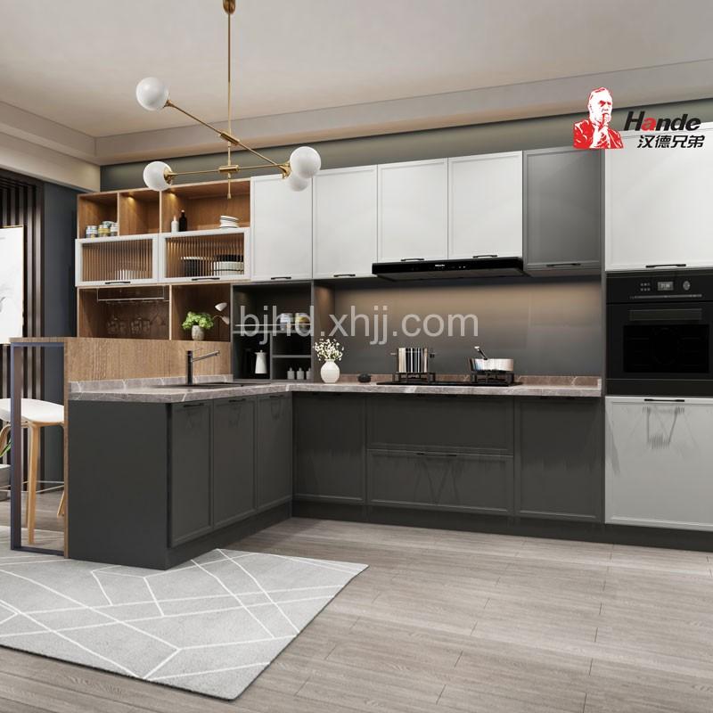 現代極簡廚房家具櫥柜