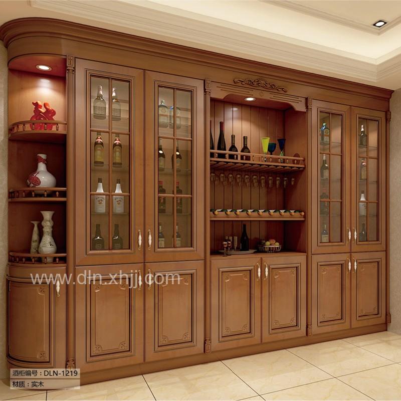 全屋定制整体储物柜实木酒柜DLN-15